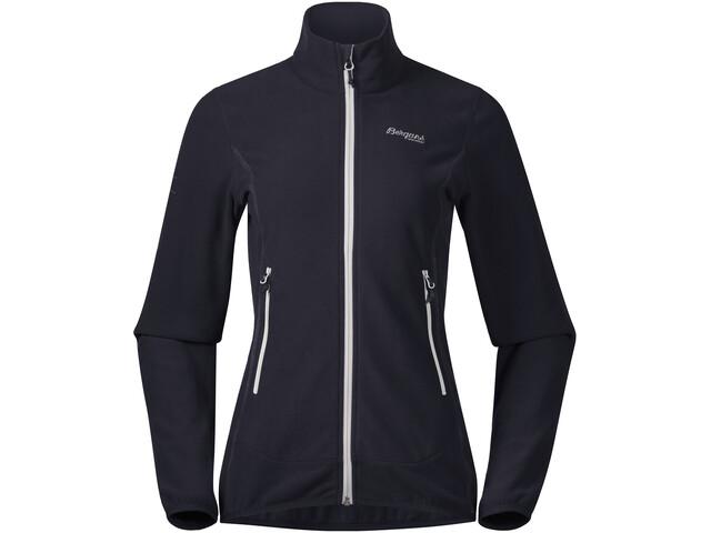 Bergans Lovund Fleece Jacket Damen dark navy/aluminium